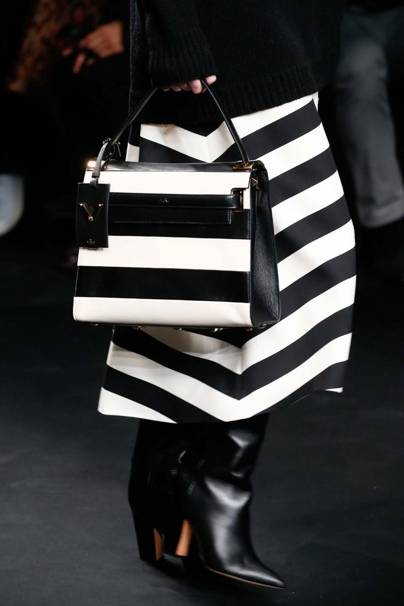 Valentino My Rockstud Striped Flap Bag