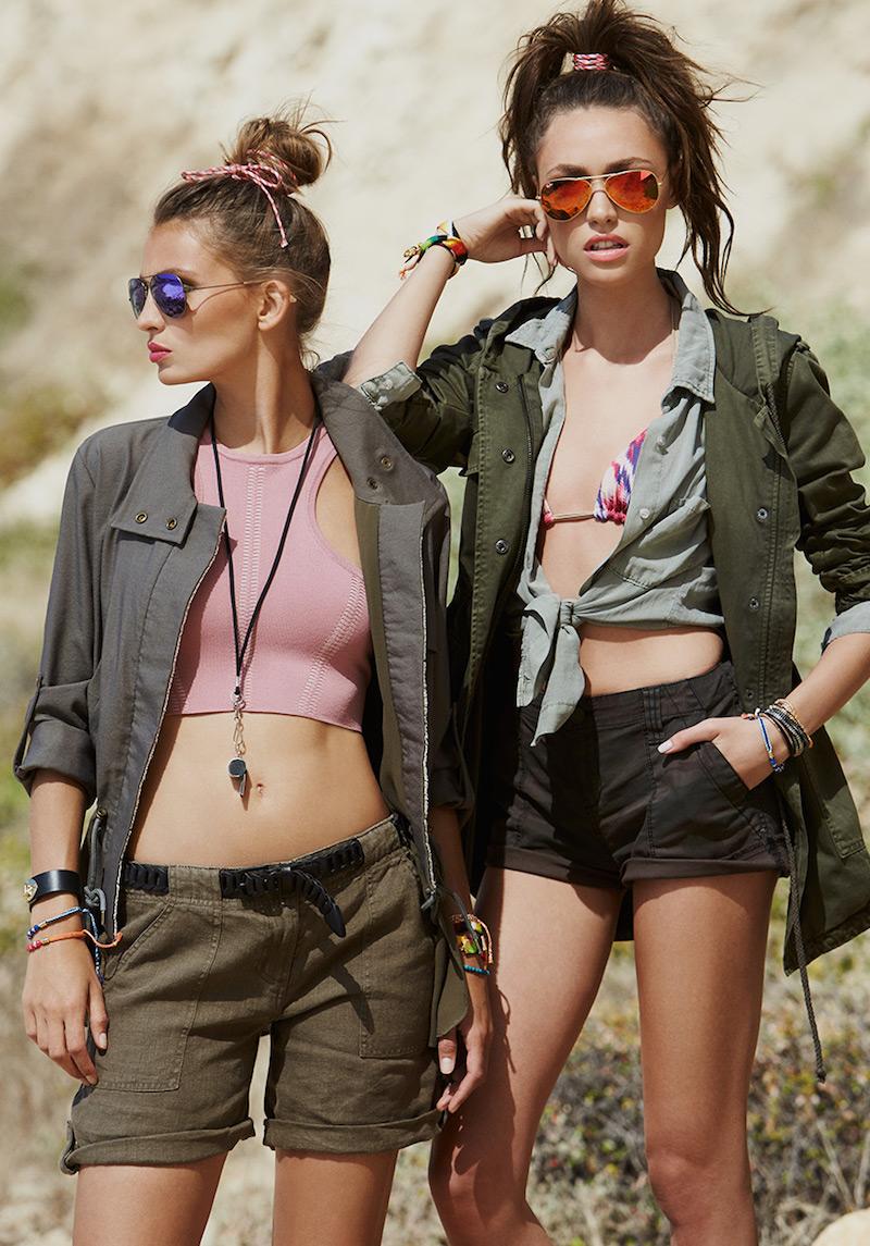 Velvet by Graham & Spencer Selia Army Jacket