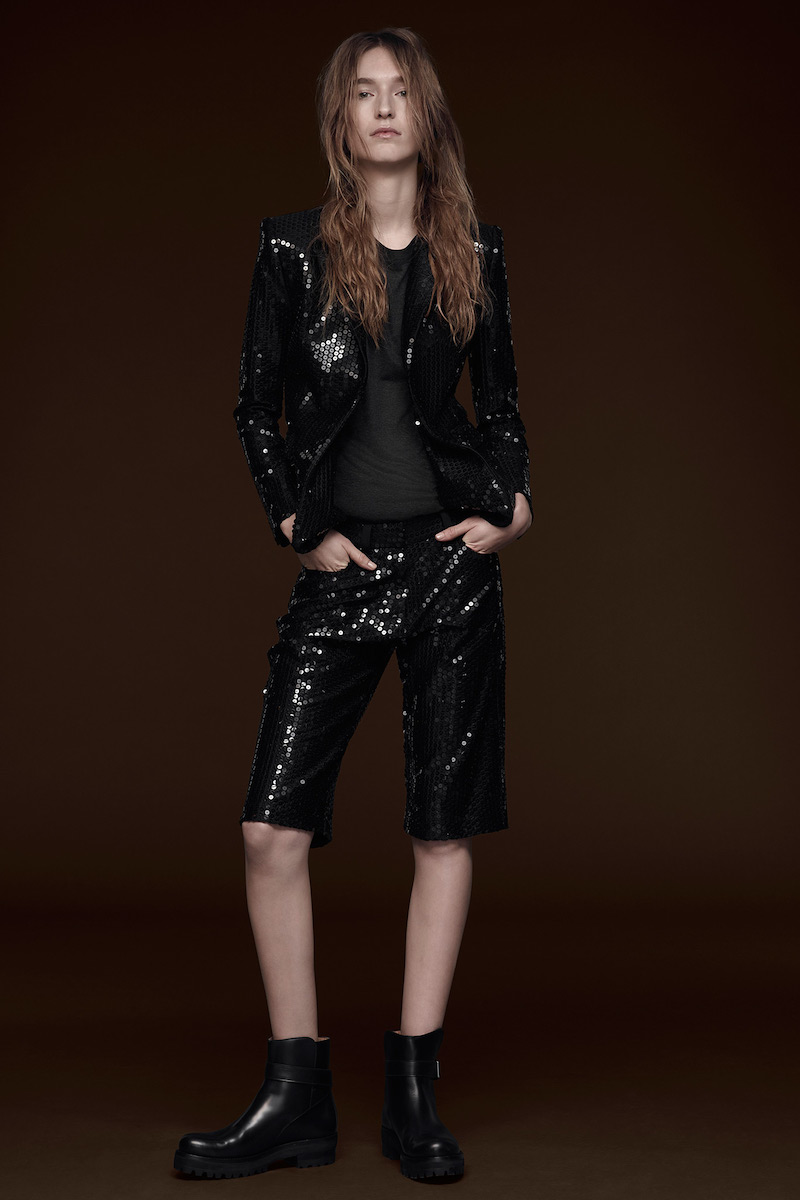 Vera Wang Collection Sequined Jacket