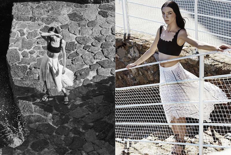 Zimmermann Gemma broderie anglaise cotton and silk-blend skirt
