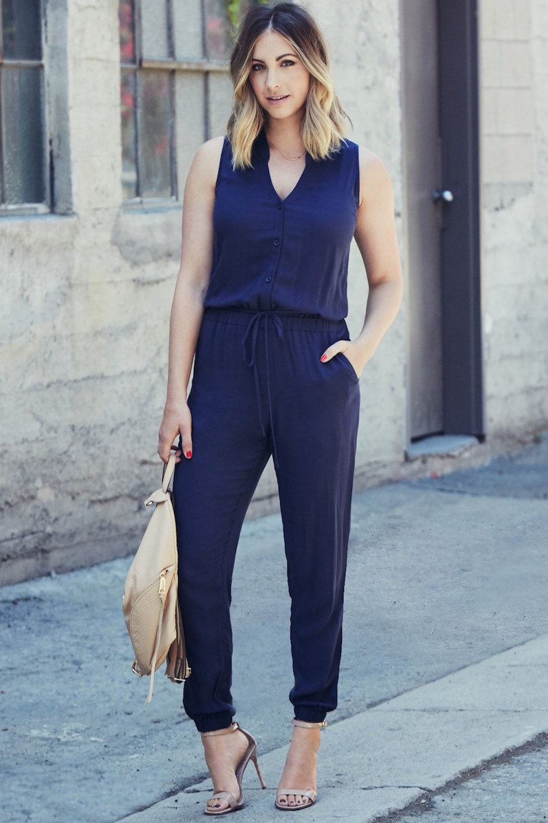 cupcakes and cashmere Roxbury Jumpsuit