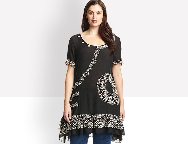 $16 & Up Plus Size New Arrivals at MYHABIT