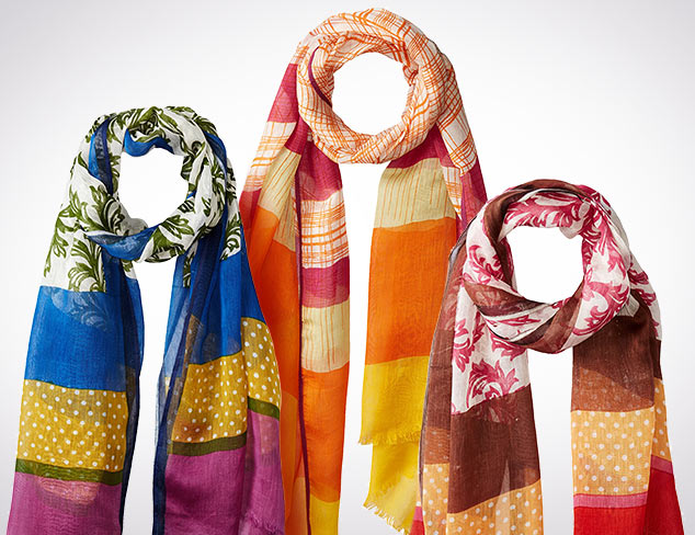 $16 & Up Scarves by Sayami at MYHABIT