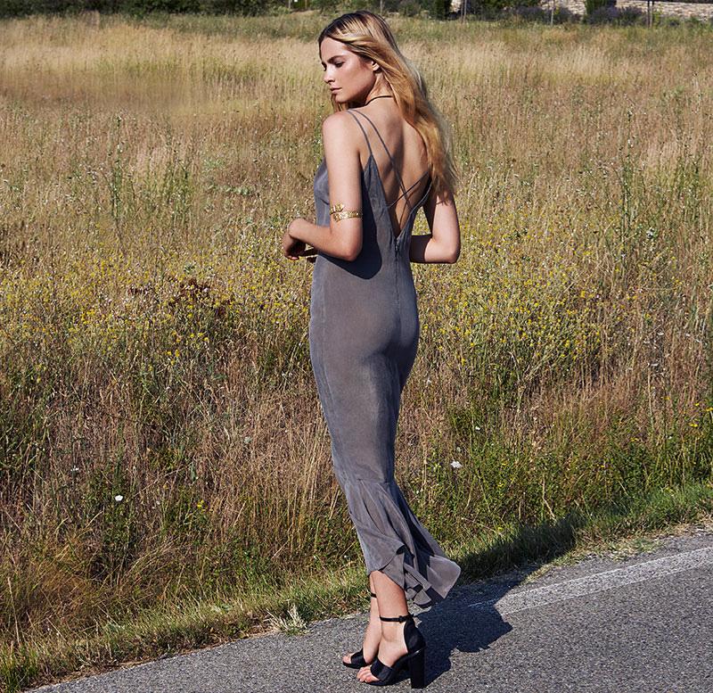 AGAIN Ash Dress