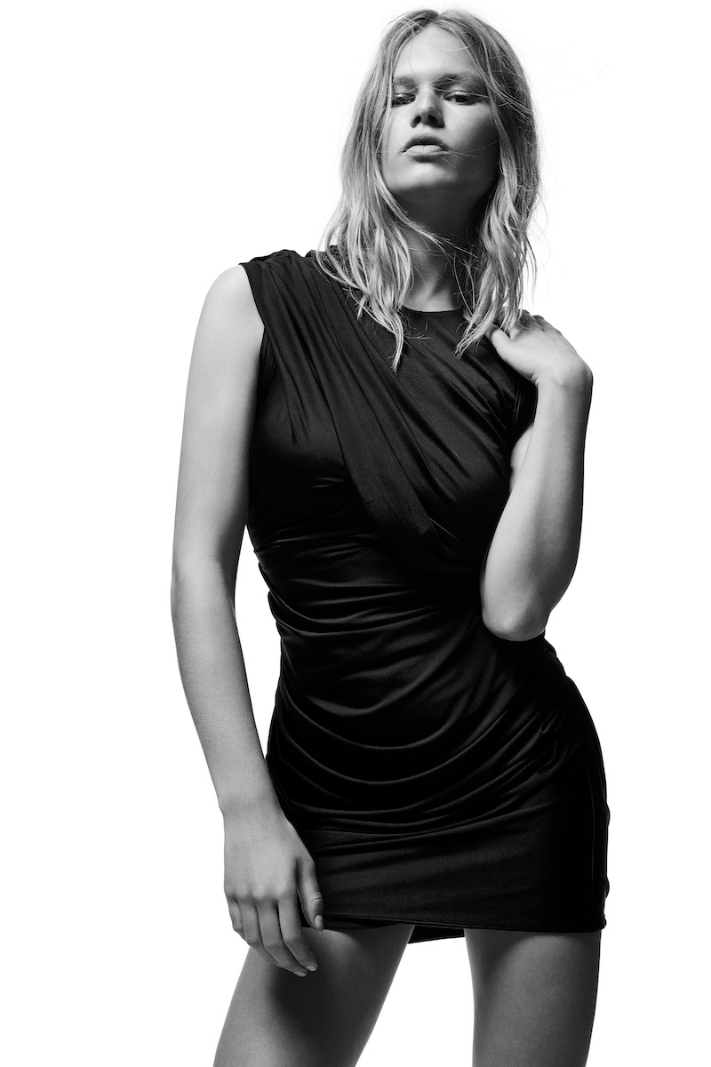 ALEXANDER WANG Spring 2009 Draped Jersey Dress