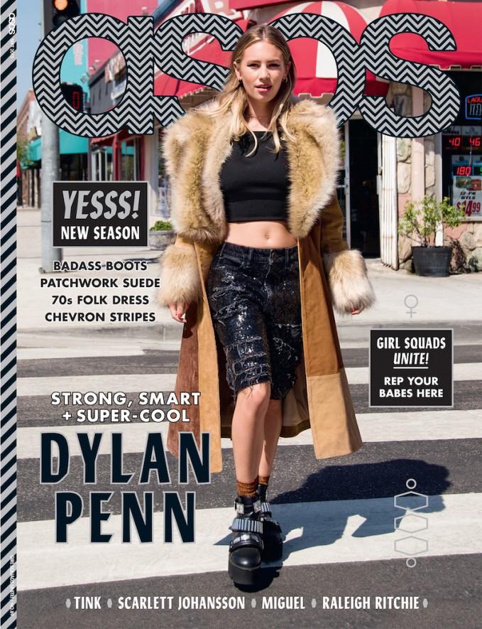 ASOS Magazine September 2015 Cover Girl: Dylan Penn