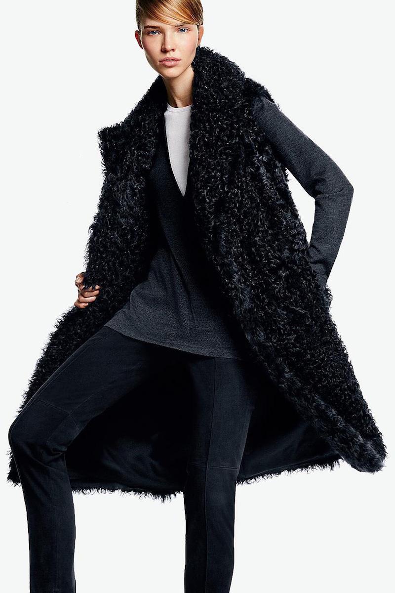 Akris Aperto Kalgan Lamb Fur Vest