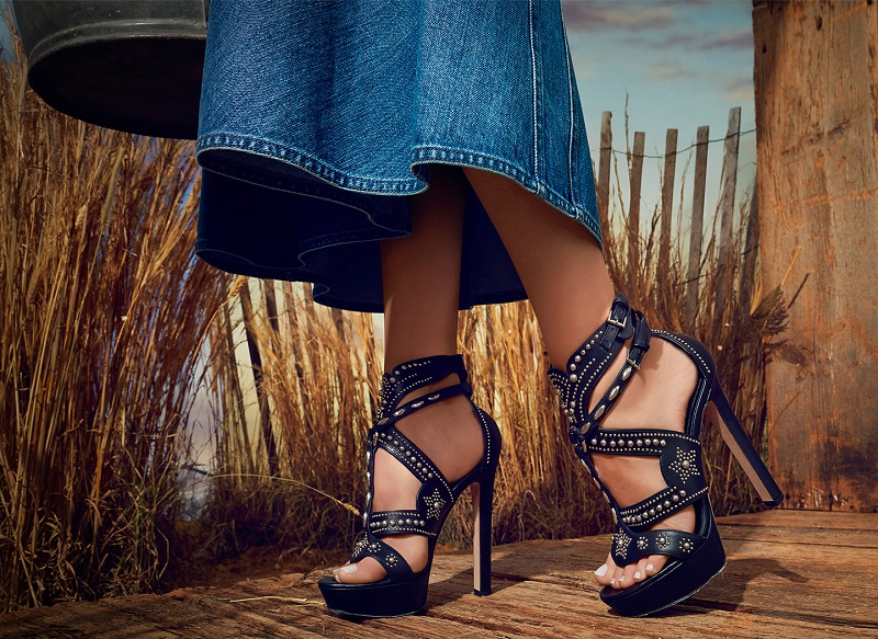 Alexander McQueen Studded Leather Platform Sandals