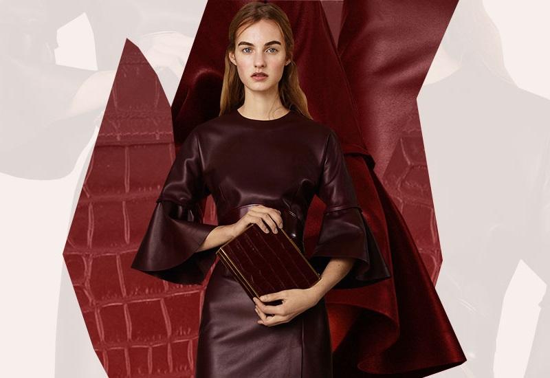 Alexander McQueen bishop sleeve dress