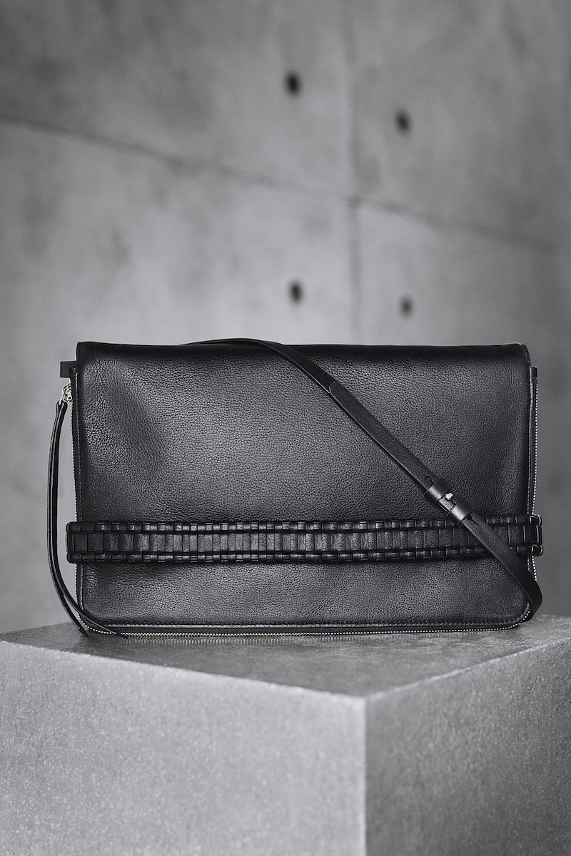 AllSaints Club Clutch