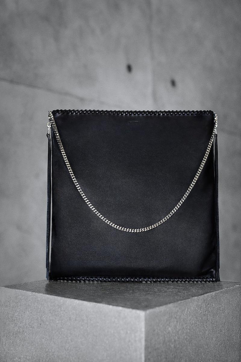 AllSaints Fleur De Lis Large Shoulder Bag