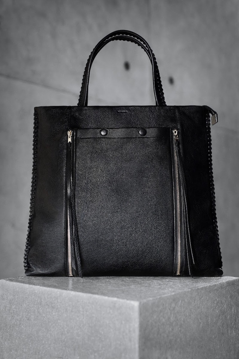 AllSaints Fleur De Lis North South Tote
