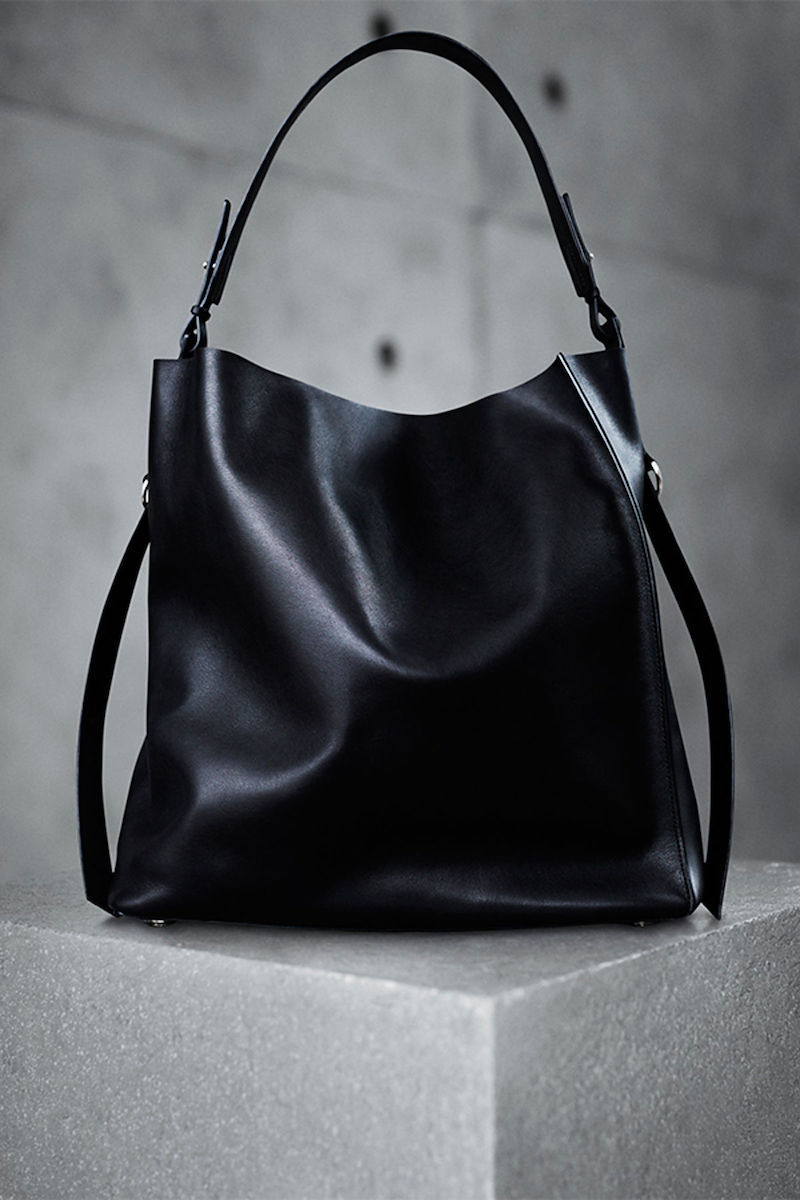 AllSaints Paradise North South Tote Calf Leather