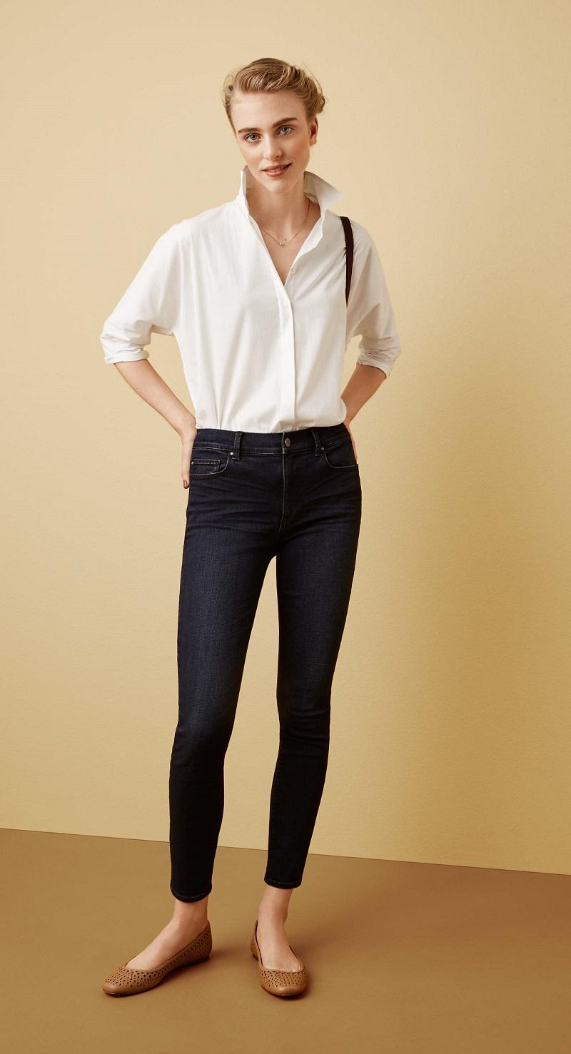 Ann Taylor Modern Super Skinny High Rise Jeans