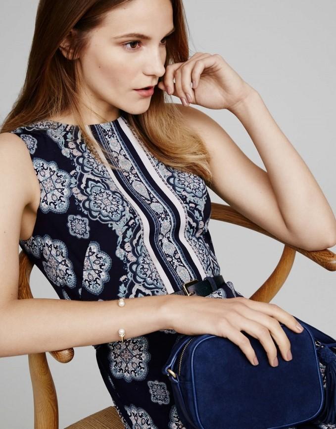 Ann-Taylor-Paisley-Mosaic-Flare-Dress