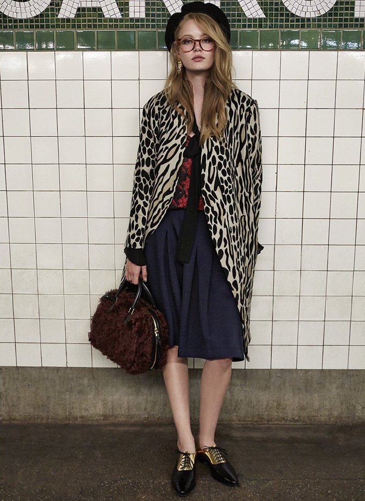 By Malene Birger Apponia Leopard Coat
