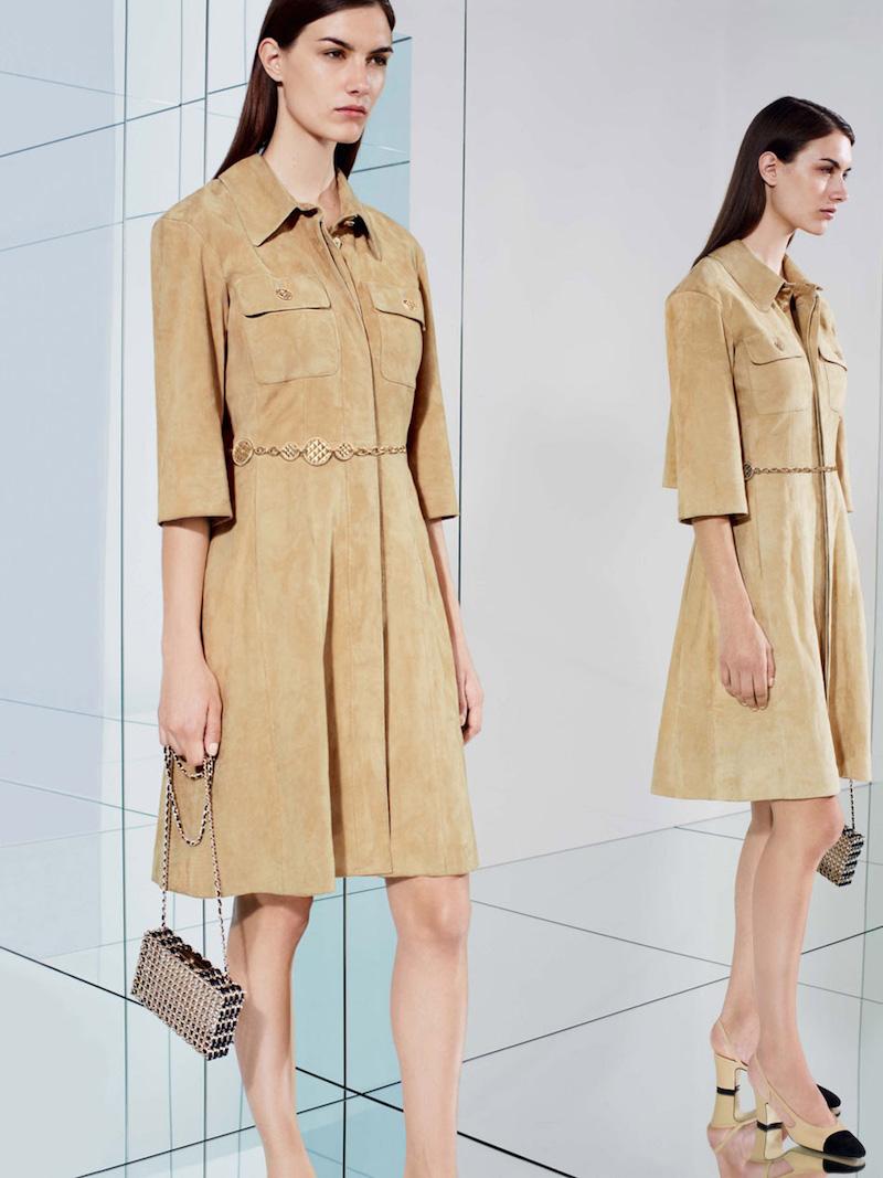 Chanel Lambskin Dress