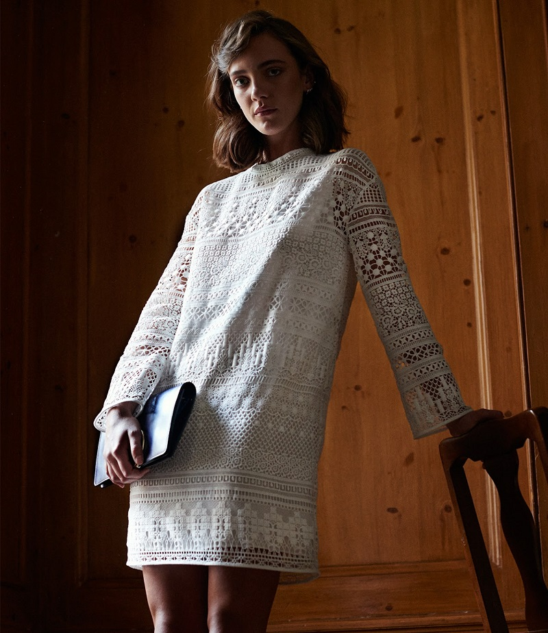 Chloé Lace Tunic Dress