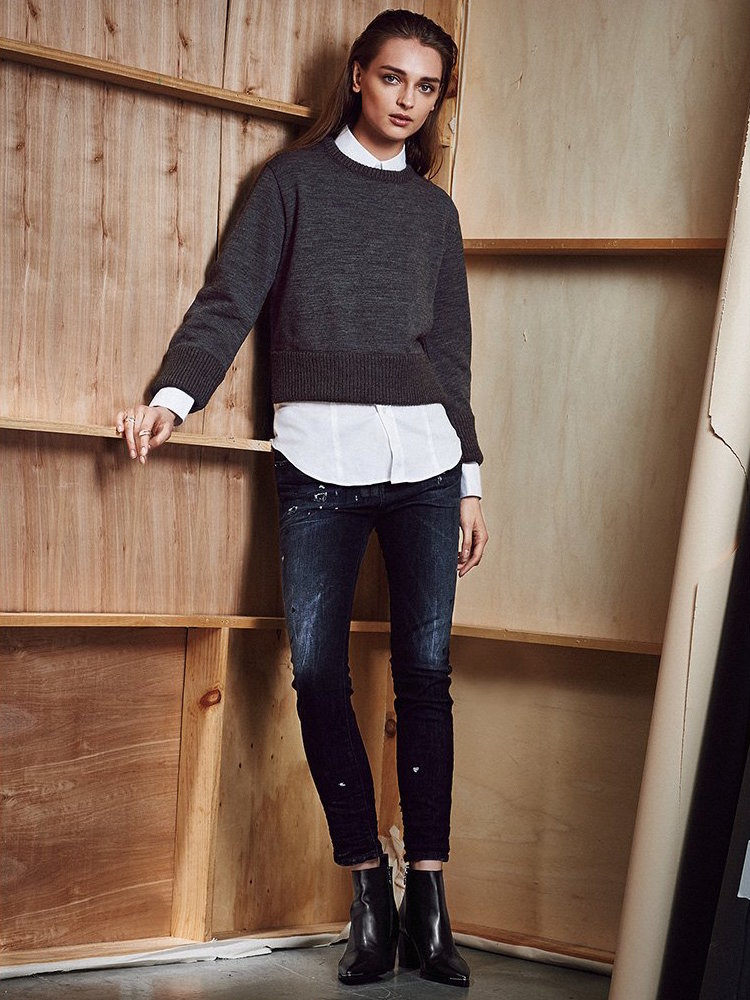 DSQUARED2 Chunky Wool Sweater