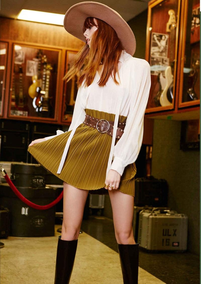Dahlia Pleated Skirt