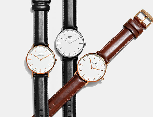 Daniel Wellington Watches at MYHABIT