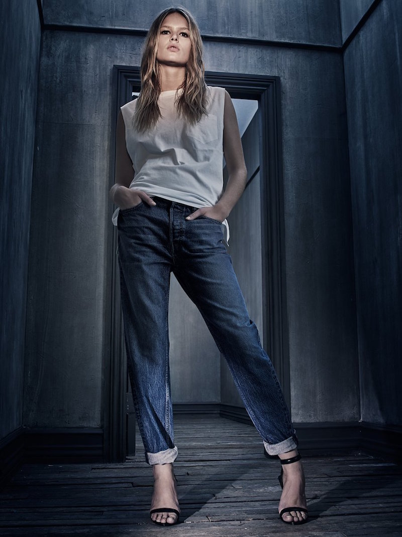 Denim x Alexander Wang Jeans Collection_7