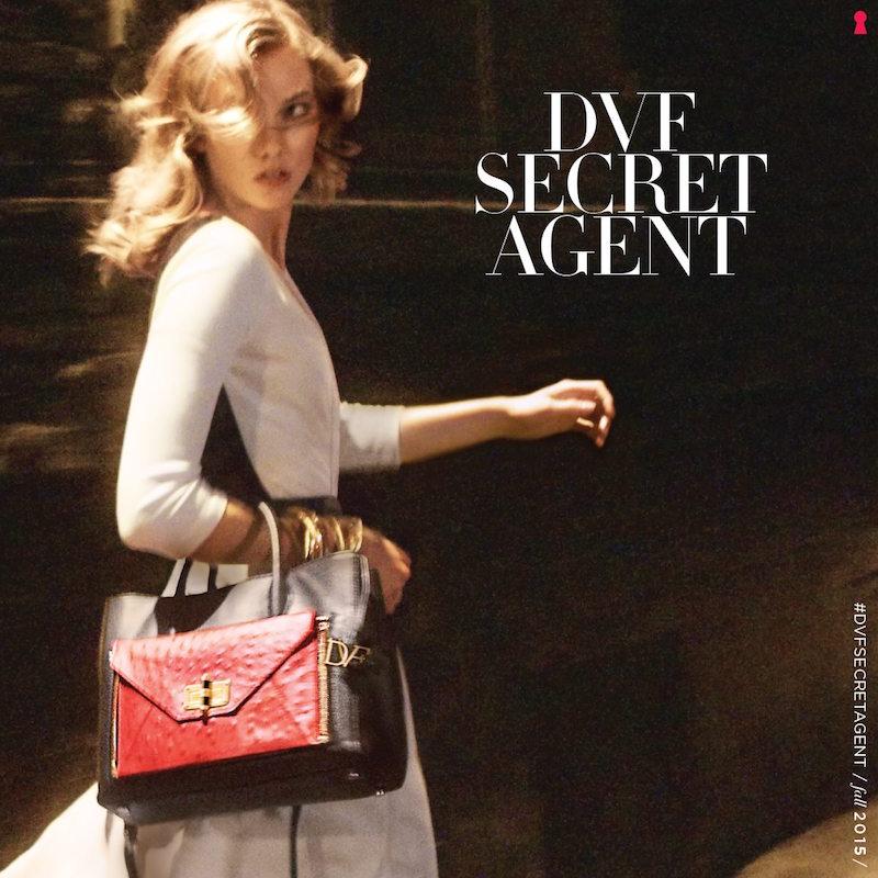 Diane von Furstenberg Secret Agent Campaign feat. Karlie Kloss_1