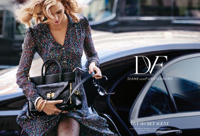Diane von Furstenberg Secret Agent Campaign feat. Karlie Kloss_2