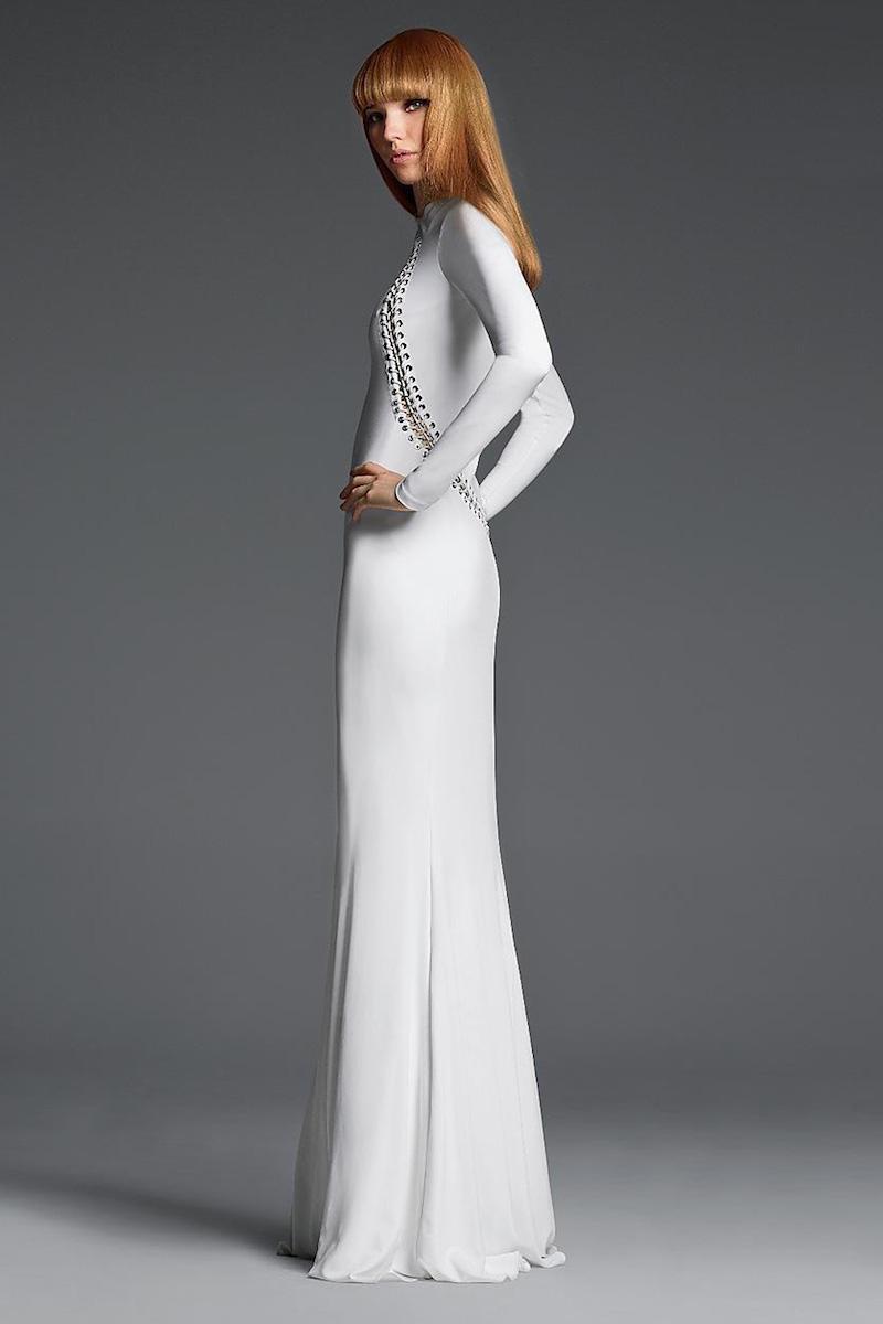 Emilio Pucci Grommet-Detail Gown