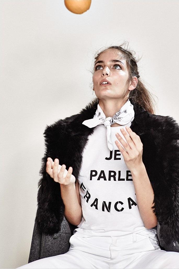 Etre Cecile Je Parle Francais T-Shirt