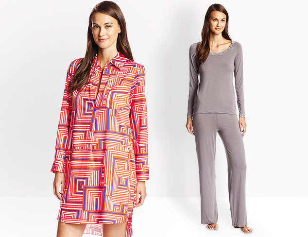 Fall in Luxe Natori Sleepwear at MYHABIT