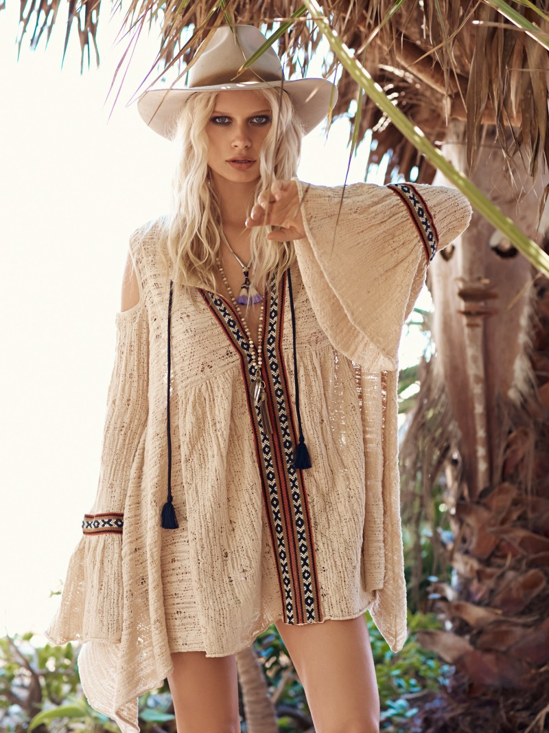Free People For the Love of Flowers Tunic