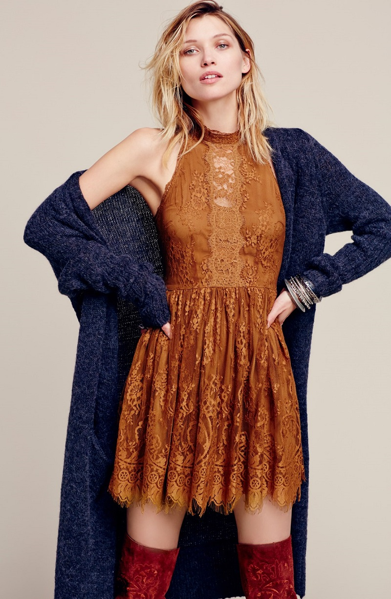 Free People Santa Cruz Long Cardigan