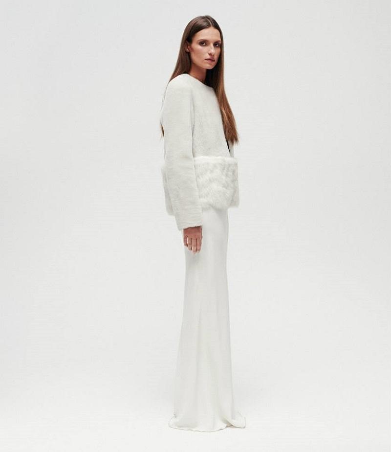 Gabriela Hearst Collarless Jacket