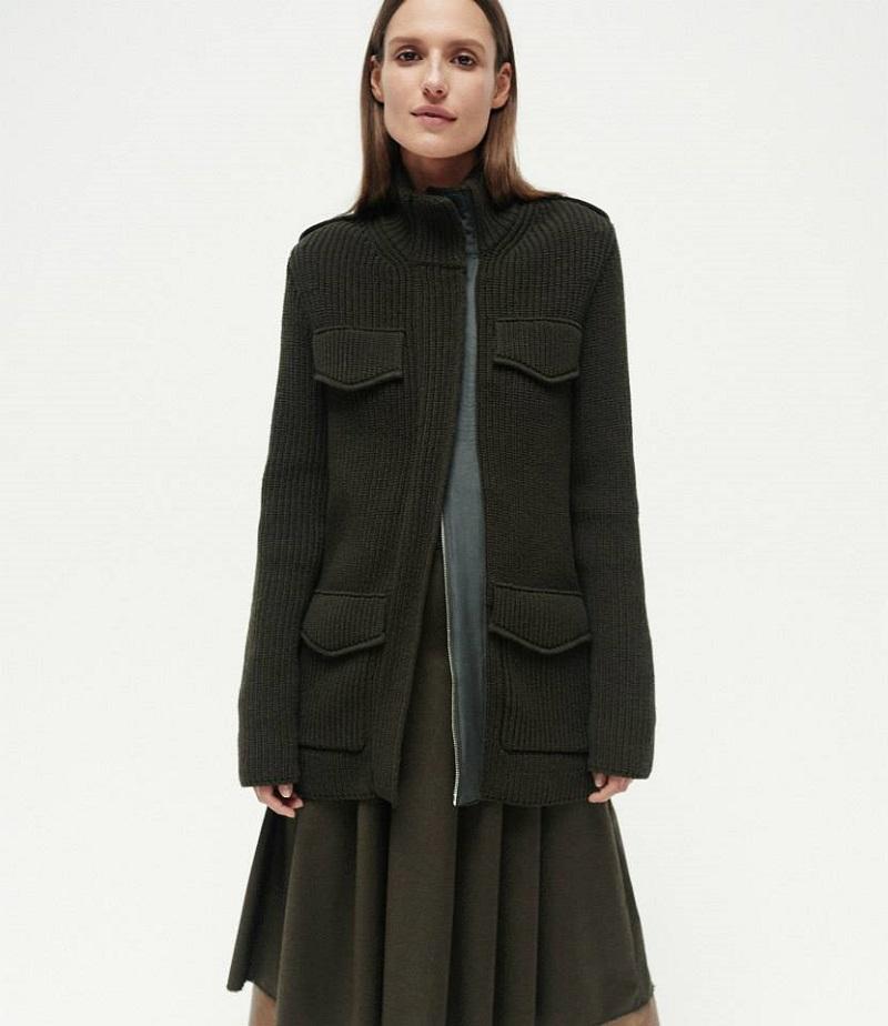 Gabriela Hearst Sweater Coat