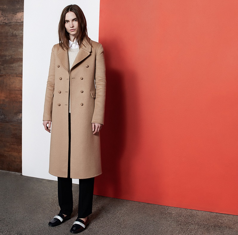 Gucci Knot-button double-breasted coat
