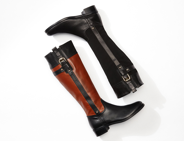 Italian Luxe Boots, Pumps & More at MYHABIT