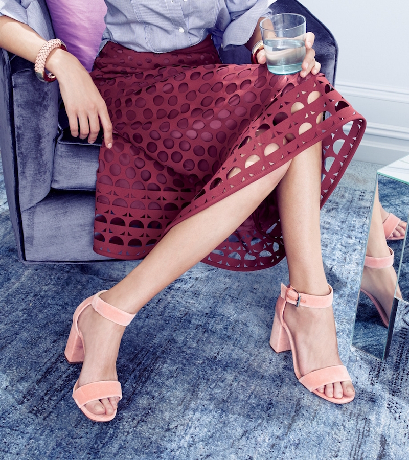 J.Crew Collection Calf Hair Strappy Sandals