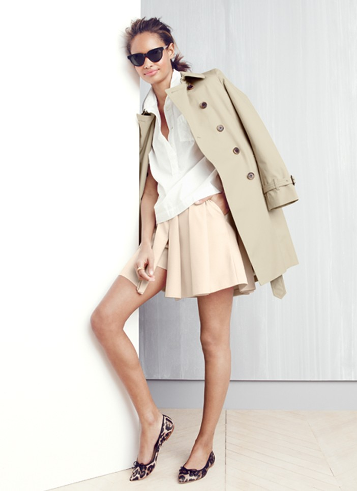 J.Crew Icon trench coat