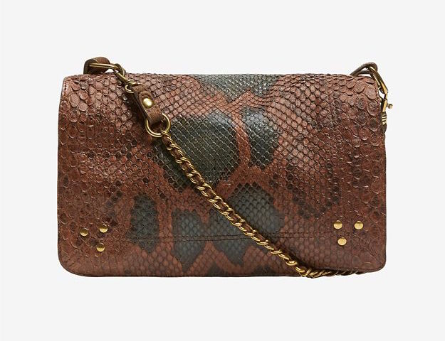 Jerome Dreyfuss Bobi Python Flap Crossbody