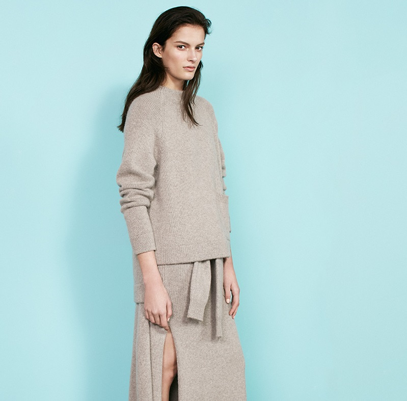 Joseph Patch-pocket cashmere sweater