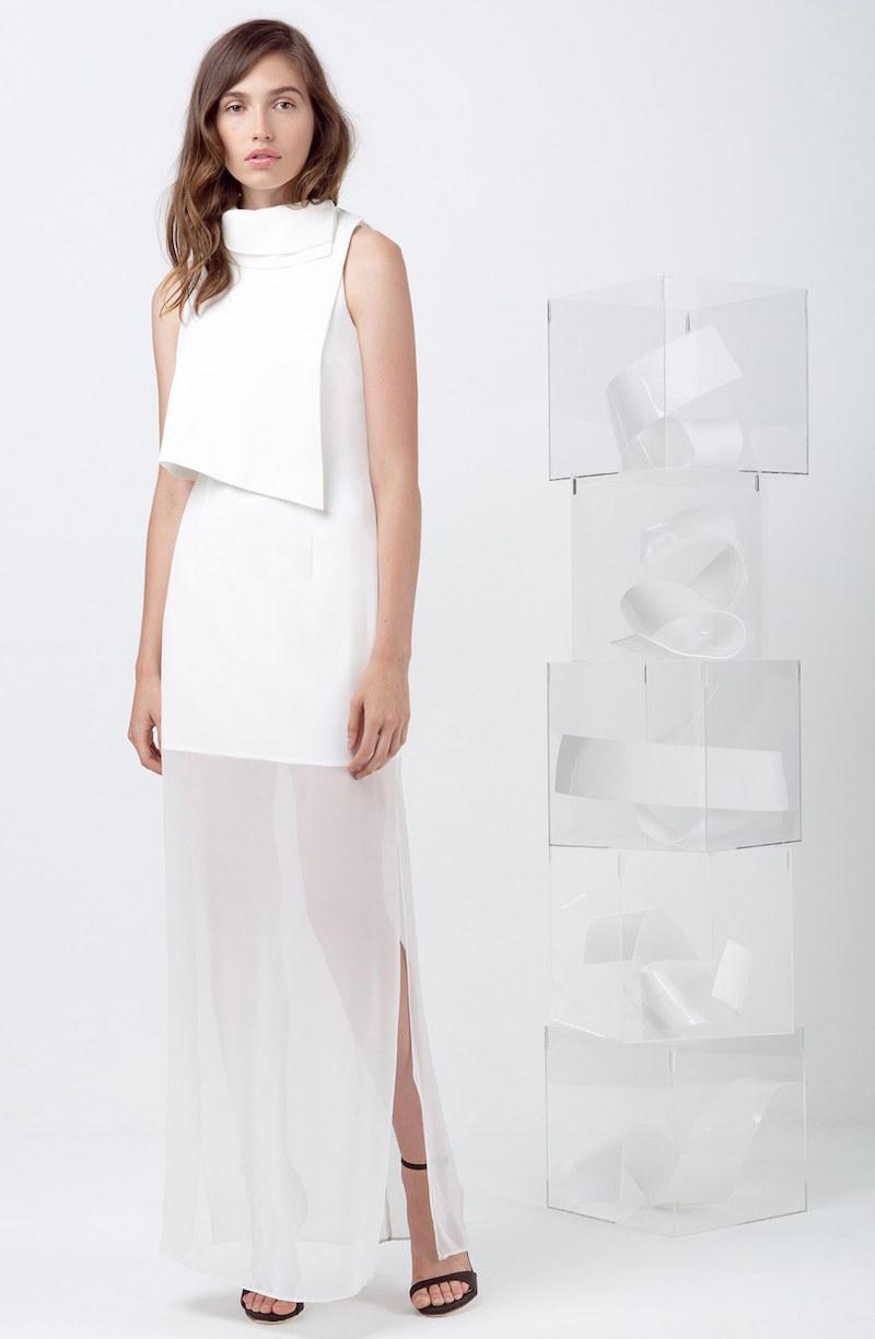 Keepsake the Label Paper Trail Maxi Dress