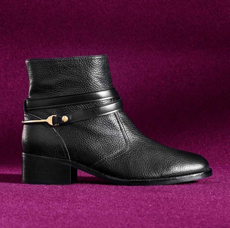 L.K. Bennett Romilly Round Toe Ankle Boot