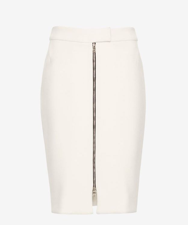 L'Agence Zip Front Skirt