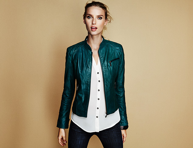 Leather Jackets feat. LAMARQUE at MYHABIT