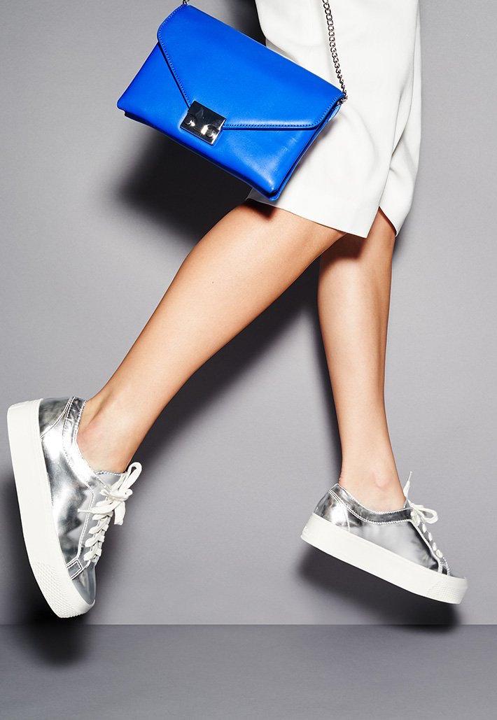 Loeffler Randall Miko Platform Sneakers