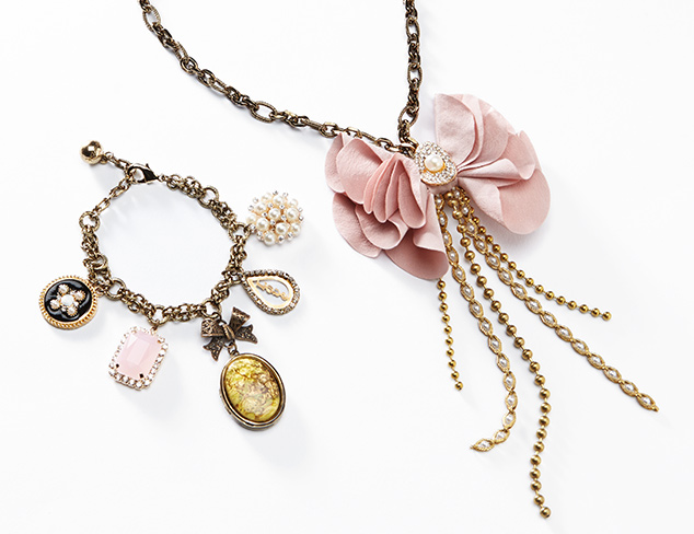 Look to the Past Victorian-Inspired Jewelry at MYHABIT