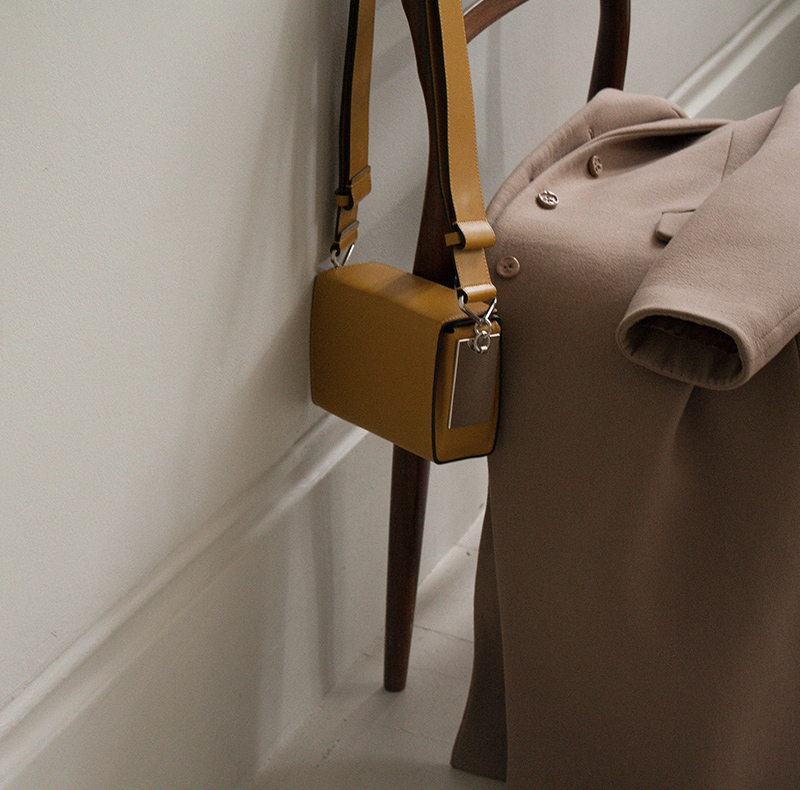 Marni Box Small Leather Shoulder Bag