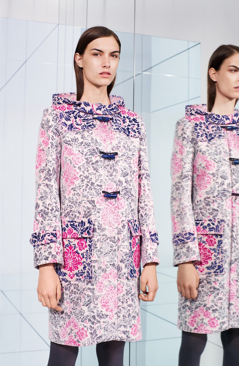 Mary Katrantzou Printed Duffle Coat