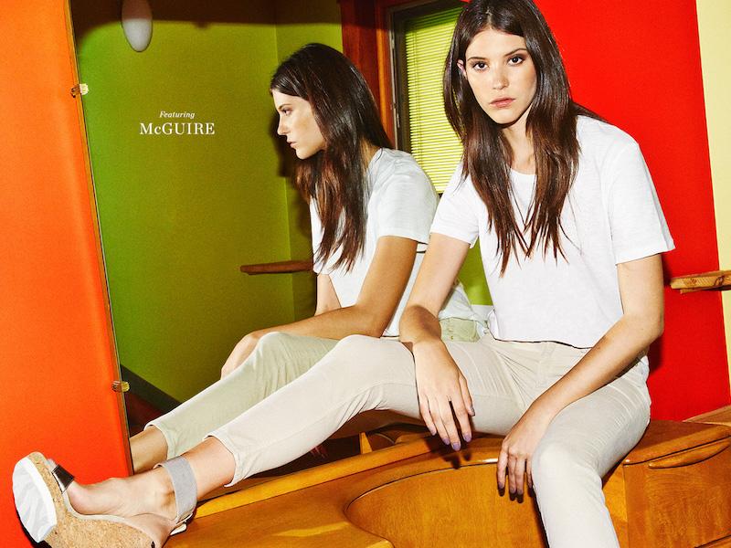 McGuire Newton Corduroy Skinny Jeans